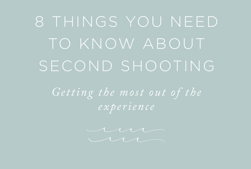 8 Things You Need To Know About Second Shooting