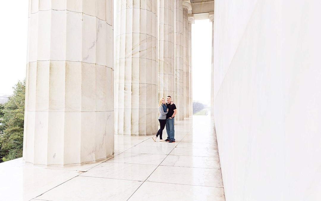 Jess & Max Surprise DC Engagement Session