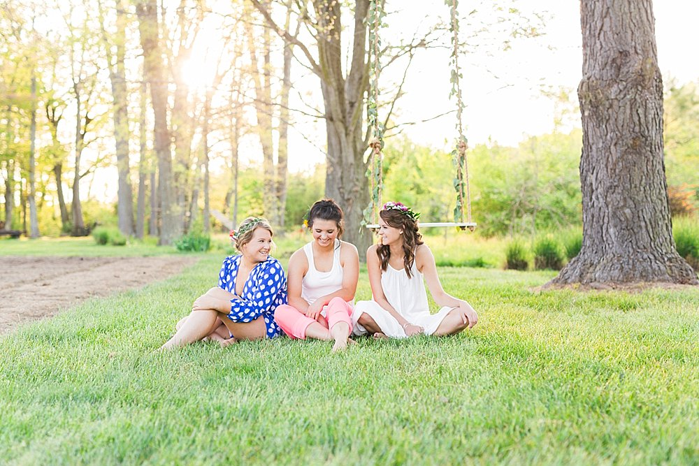 Styled Senior Shoot Easton, Maryland
