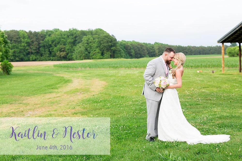 Kaitlin & Nestor's Wedding A Blush Farm Wedding | Trappe, MD