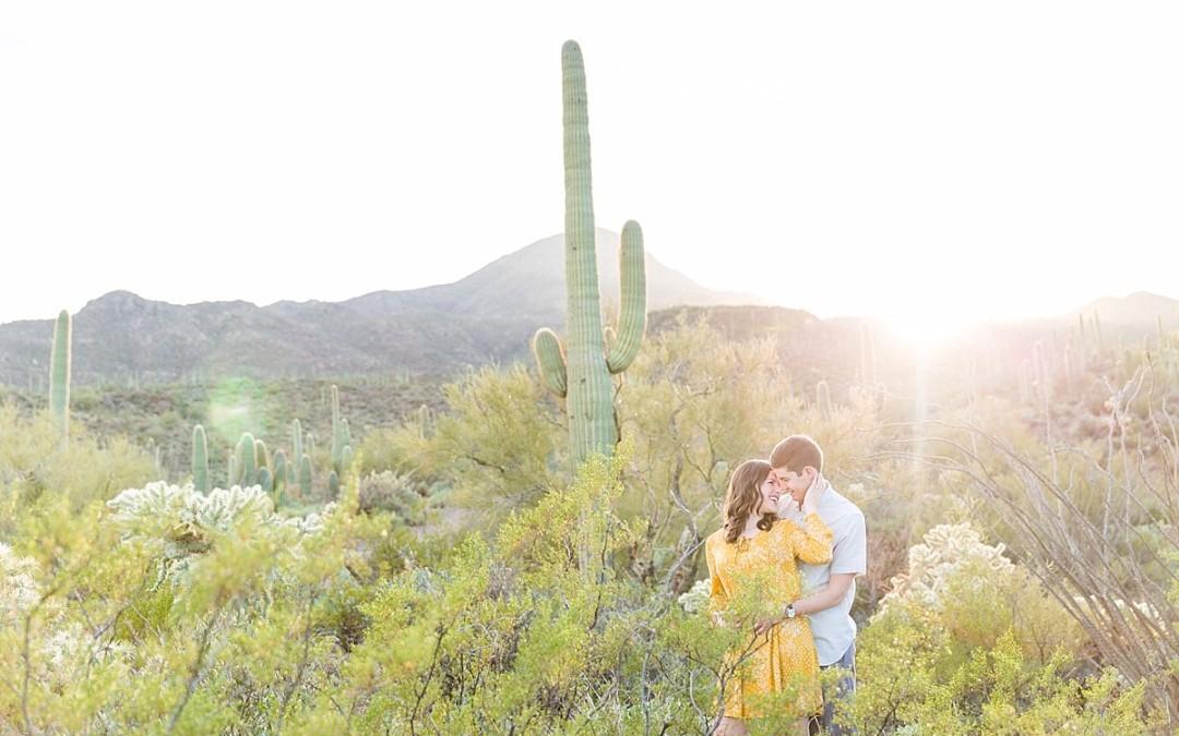 Jenny & Trevor El Camino Del Cerro Trailhead | Tucson, Arizona