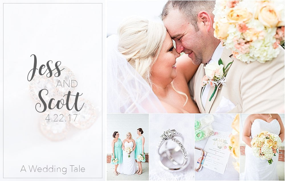 Jess & Scott A Romantic Pastel Wedding | Independence Hall | Millsboro, Delaware