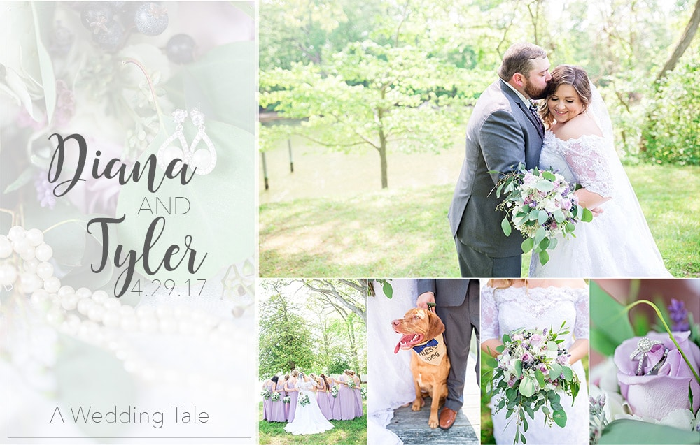 Diana & Tyler Lilac & Navy Nautical DIY Wedding | Wye Island, Maryland