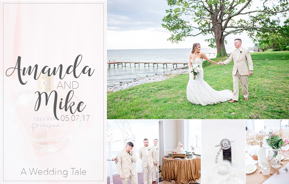 Amanda & Mike A Sparkly Tearful Bayside Wedding