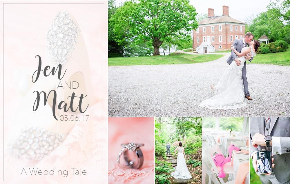 Jen & Matt A Garden Wedding With A Twist | Historic London Town and Gardens | Edgewater, MD