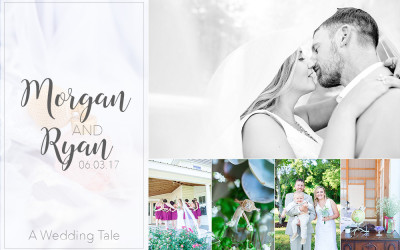 Morgan & Ryan A Charming Backyard Wedding | Denton, MD