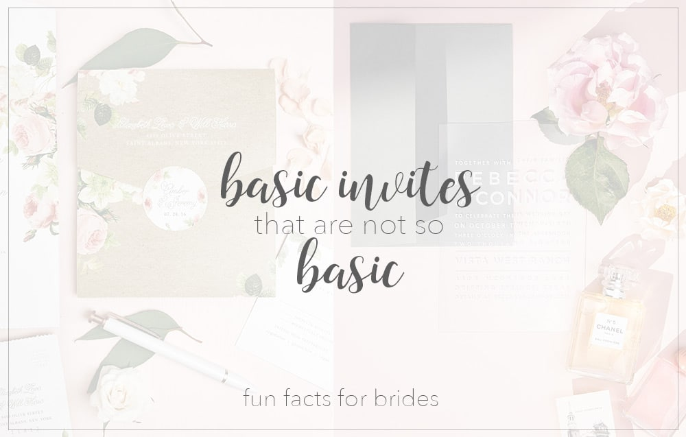 Basic Invites That Are Not So Basic People Let Me Tell Ya About Your Stationery Best Friend