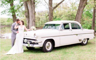 Elegant Backyard Wedding | Liz & Chris Edgewater, Maryland