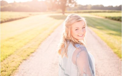 A Golden Light Eastern Shore Senior Session Senior Spokesmodel 2019