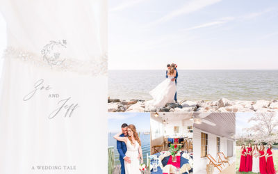 Red, White & Blue To Say I Do | Elegant Chesapeake Bay Wedding Wylder Hotel | Tilghman Island, Maryland