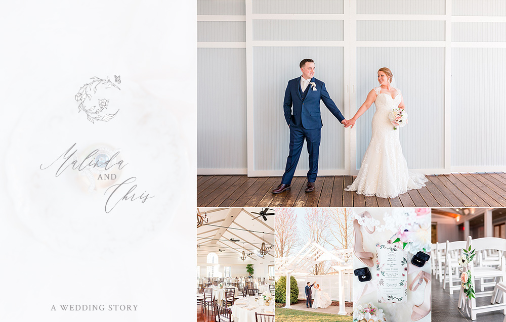 Malinda and Chris's Romantic Chesapeake Bay Beach Club Wedding
