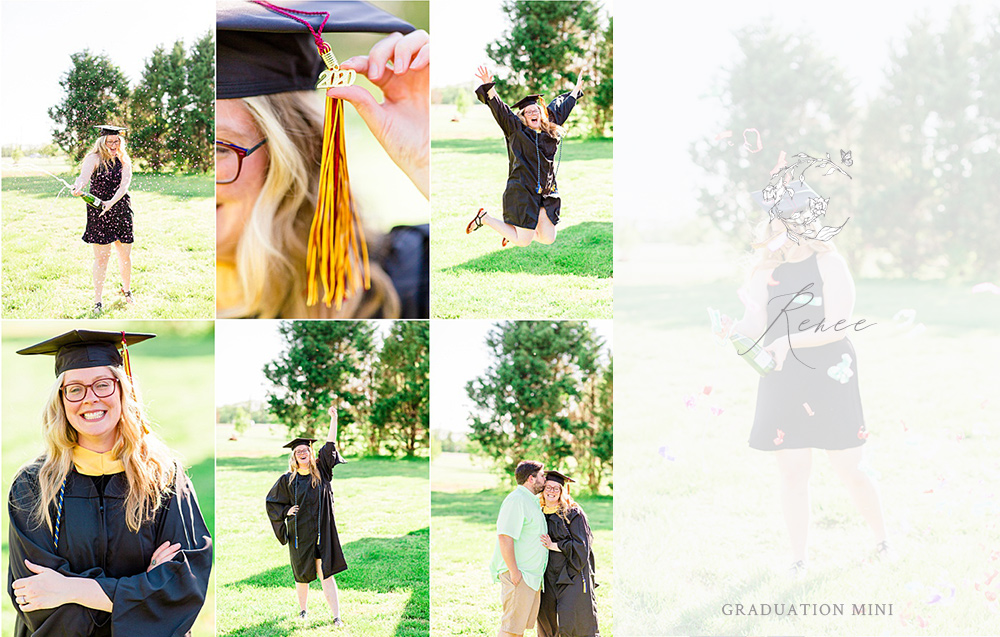 Renee | Masters Graduate | Graduation Mini