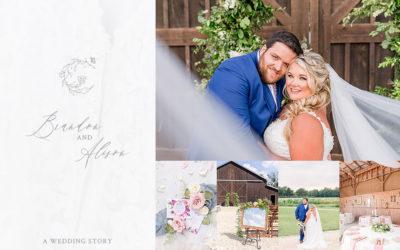 Brandon & Alison's Cohee Farm Wedding